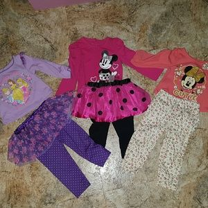 Disney baby outfit bundle